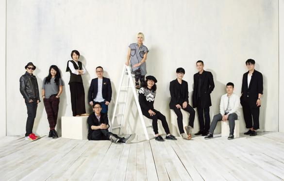 2011년 S/S 서울 패션 위크에 참가한 디자이너
